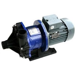 Iwaki MX-F400-CFX-M58 Mag Drive Pump closed coupled to 3/4 HP, 3 phase, 230/460 volt, TEFC motor