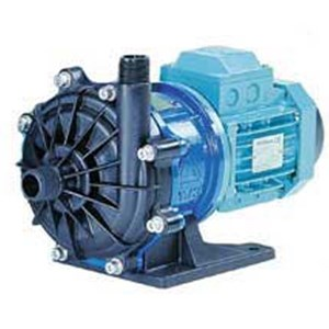 Iwaki MX-400-CV6-J58 Mag Drive Pump closed coupled to a 1/2 HP, 3 Ph, 3500 RPM, 230/460V, 60 Hz, TEFC Motor